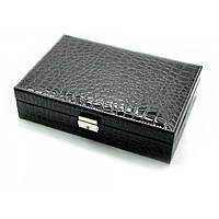 Шкатулка для бижутерии черная 25768