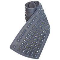 Силиконовая клавиатура 85 клавиш USB (русский+английский), фото 1