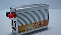 Преобразователь авто инвертор 12V-220V 500W, фото 1
