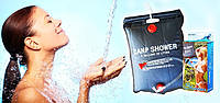 Переносной походный душ Shower Bag, портативный душ Super solar shower, душ для дачи, душ туристический, фото 1