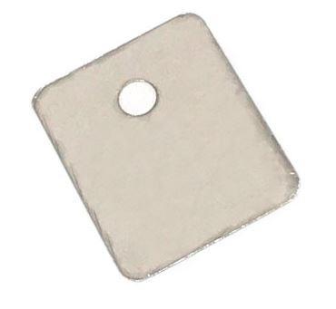 Теплопроводящая слюдяная прокладка под транзистор TO-3P 18 х 22 мм