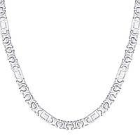 Серебряная цепочка ЕВРО ВЕРСАЧЕ 45 см, фото 1