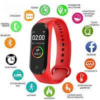 Фитнес-браслет 4 red