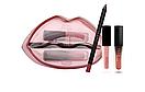 Стойкие помады + карандаш для губ Huda Beauty Matte & Cream Lip Set Bombshell/Mogul, фото 2