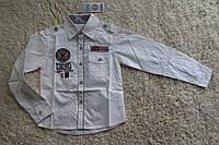 Рубашка для мальчиков 4- 6 лет