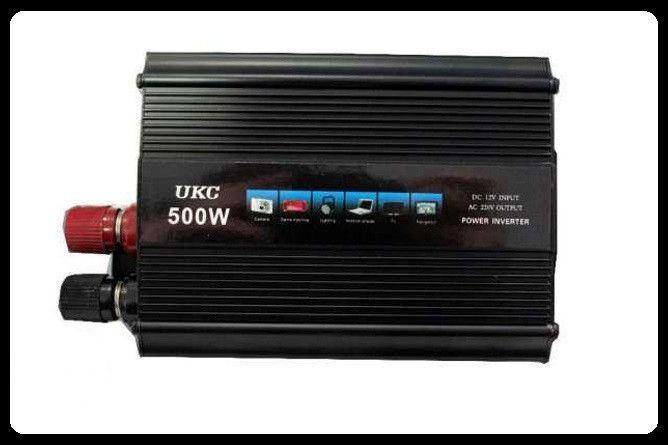 Автомобильный Преобразователь AC/DC 500W SSK, инвертор автомобильный, преобразователь напряжения 12 220