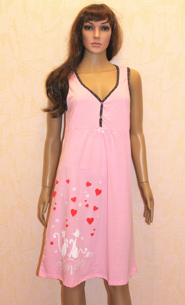Женский комплект халатик и ночная рубашка