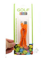 USB кабель GOLF Rainbow Series micro-USB Cable Orange