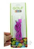 USB кабель GOLF Rainbow Series micro-USB Cable Pink