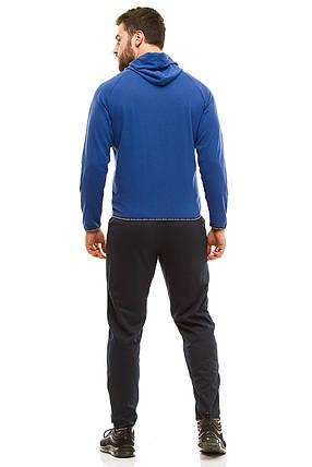 Мужской спортивный костюм 719 электрик размер 48, фото 2