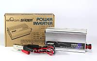 Преобразователь AC/DC 1500W SAA SHOER, автомобильный преобразователь напряжения, автомобильный инвертор, фото 1