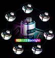 Bluetooth FM модулятор + Быстрая зарядка USB QC 3.0 + Подсветка LED 7 COLORS RGB (HandsFree/microSD/Вольтметр), фото 2