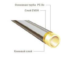 Труба PE-Xc/EVOH 25x3,5мм бухта 75м