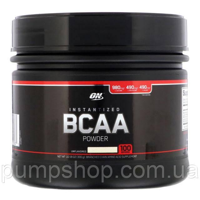 Бцаа Optimum Nutrition Instantized BCAA Powder Unflavored 100 порц. (уценка)