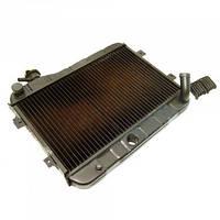 Радиатор охлаждения медно-латунный ВАЗ-2101 2-х рядный Iran Radiator Co