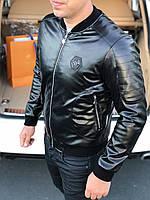 🔰 Мужская кожаная куртка Philipp Plein | Чоловіча шкіряна Филипп Плеин (репліка)