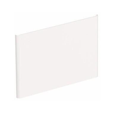 NOVA PRO  панель боковая для умывальника 55cm, белый глянец (пол)