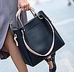 Женская сумка классическая в наборе сумка через плечо Tiffany Черный, фото 4