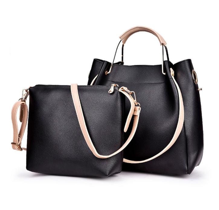 Женская сумка классическая в наборе сумка через плечо Tiffany Черный