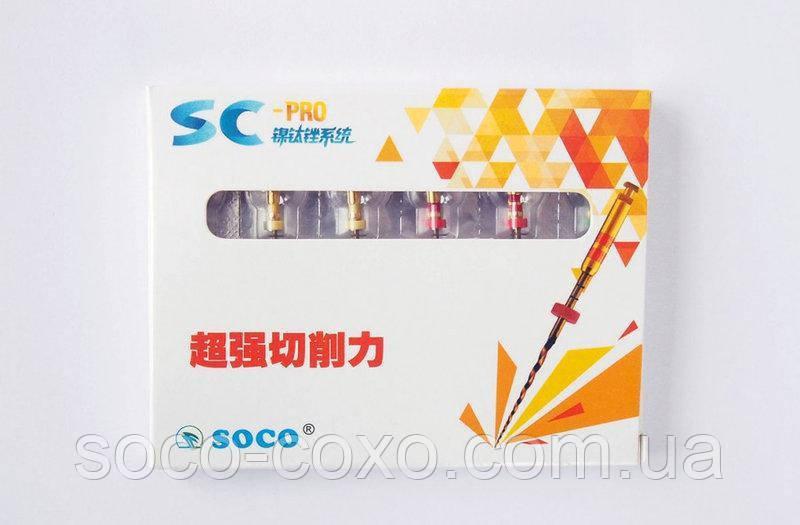 Файлы SOCO SC PRO 25 mm. 04/35, 6шт.