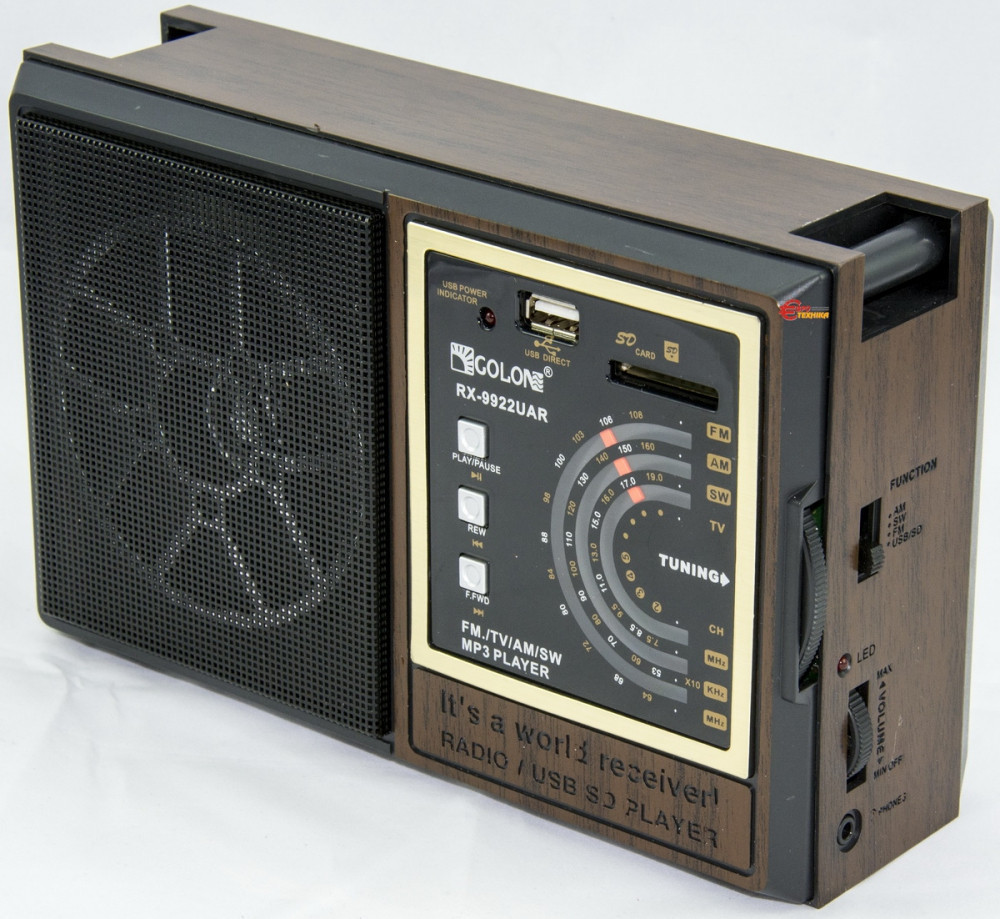 RADIO GOLON RX-9922 BT С блютузом, Радио с Bluetooth, fm приемник, Golon радио, фото 1