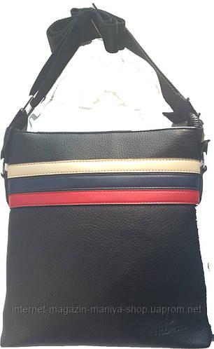 Мужская сумка полоска