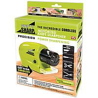 Электрическая точилка для ножей и ножниц Swifty Sharp, Ножеточка электро, Универсальная Электро точилка, фото 1