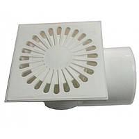 Трап канализационный Uniplast 110 мм, 90° белый