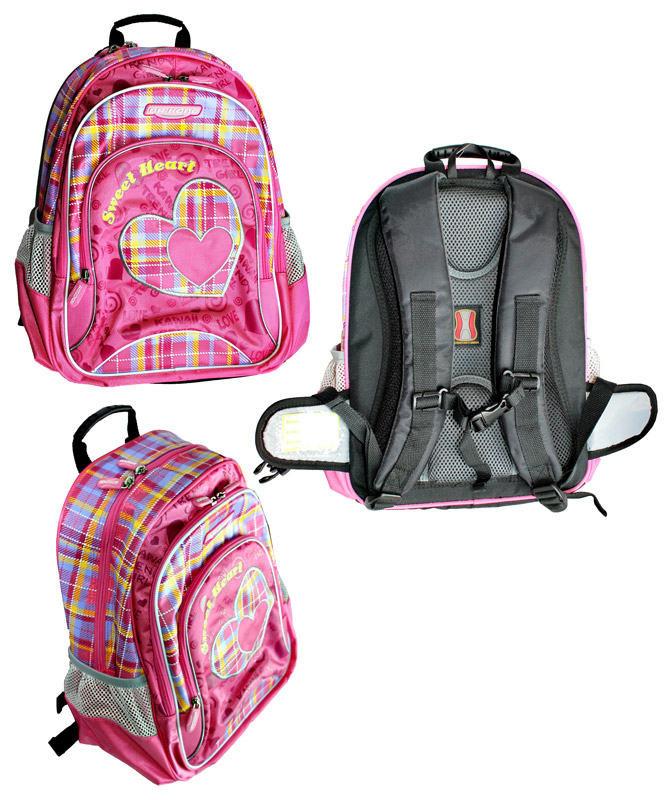 Рюкзак школьный ортопедический Dr Kong Z149U (S) размер 38*28*16, малиновый