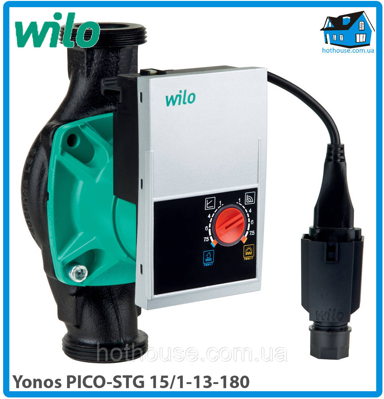 Насос циркуляционный Wilo Yonos PICO-STG 15/1-13-180 (оригинал)