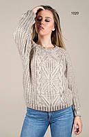 Модный полушерстяной свитер . Турция. 42-46