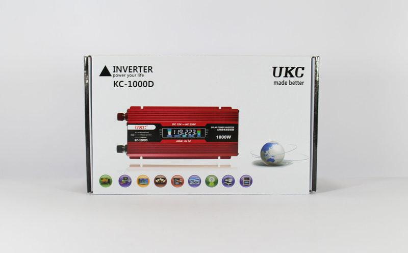 Преобразователь  AC/DC KC-1000D 1000W + lcd  с lcd-экраном