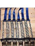 Браслеты противоскольжения БУЦ для джипов,микроавтотусов,гровых 4шт, фото 5