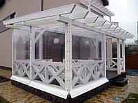 ПВХ шторы для веранды, террасы