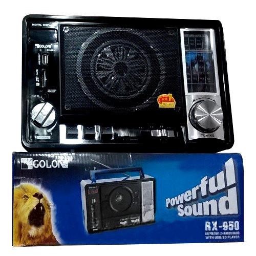Портативный радио приемник GOLON RX-950 USB/SD