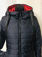 Женскаяудлинённая демисезонная курткаАгата