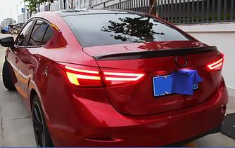 Фонари Mazda 3 BM (13-18) тюнинг LED оптика (стиль Ауди)