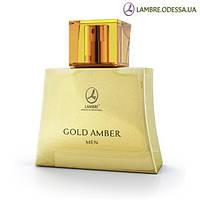 «Gold Amber Men» эксклюзивная туалетная вода Lambre 75 мл