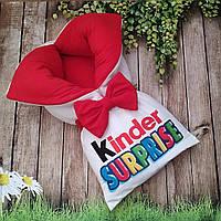 Теплый конверт на выписку - спальник - плед для детей Киндер