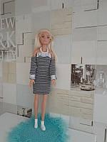 Красивое платье для Барби. Ручная работа!