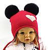 Оптом шапка детская с 48 по 52 размер ангора пампонами шапки головные уборы детские опт