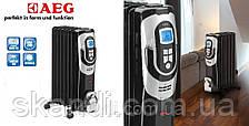 Масляный радиатор с термостатом 7 секций  AEG (Оригинал)Германия до 28кв.м