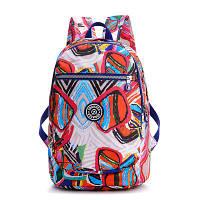 Рюкзак для Wizz Air Jinquaer Цветная карамель 40х30х20 см Белый (02012/04), фото 1