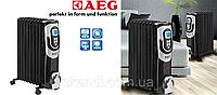 Масляной радиатор с термостатом AEG (Оригинал)Германия 9 секций