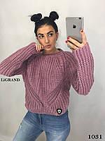 Женский  вязаный шерстяной свитер.Производство Турция.BG 1031, фото 1