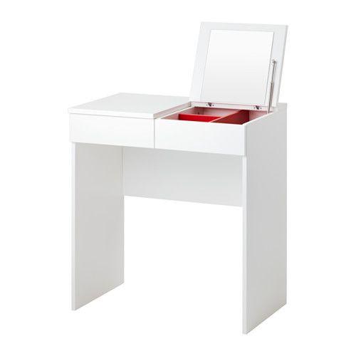 """ИКЕА """"БРИМНЭС"""" Туалетный столик, белый"""