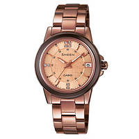 Женские часы CASIO Sheen SHE-4512BR-9AUER оригинал