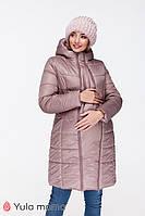 Куртка для беременных зимняя MARIET OW-49.043, капучино