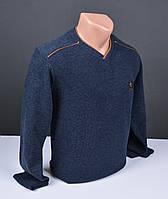 Мужской пуловер | мужской свитер T-Ring синий мыс Турция 031