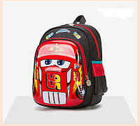 Рюкзак детский 3D Тачки  Маквин на 3-5 лет